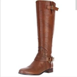 Enzo Angiolini Brown Riding Boots
